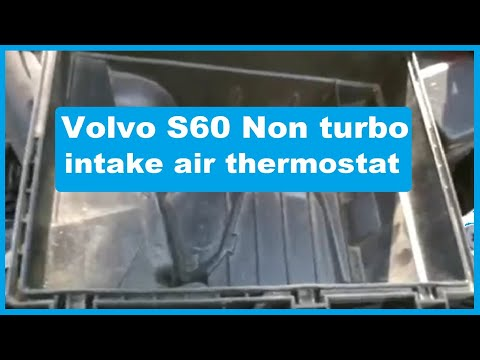 Volvo S60 S80 non turbo: faulty Air Thermostat (top of the engine overly hot, pinging, poor mpg ...