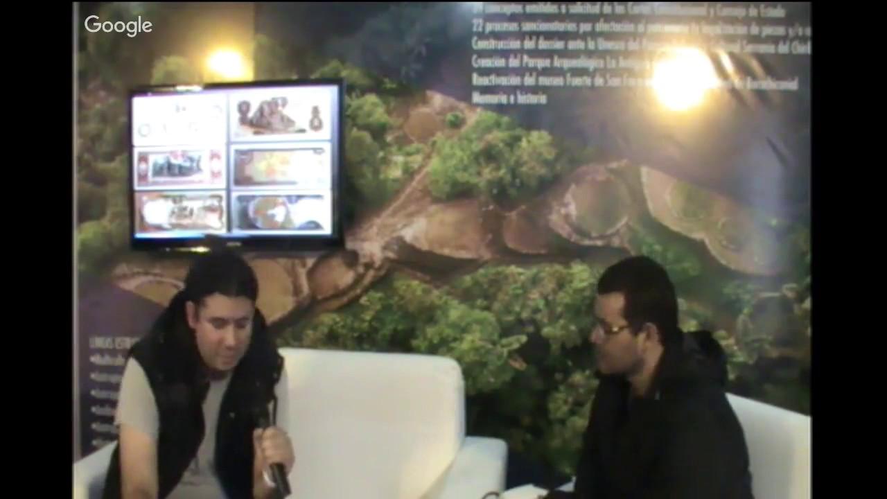 Investigación arqueológica en la Amazonía colombiana. Lugar: Stand...