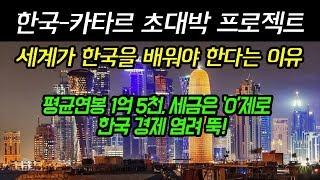 한국 카타르 잿팟 초대박 잔치 세계가 한국을 배워야 한다는 이유