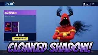 NEW Cloaked Shadow Skin! Fortnite Item Shop December 27th! | Fortnite Battle Royale