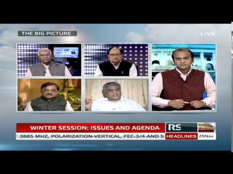 The Big Picture – Winter Session: Issues and Agenda