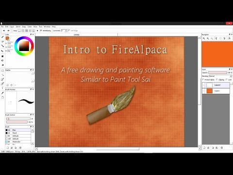 Intro To Firealpaca A Free Painting Software 2016 09 10