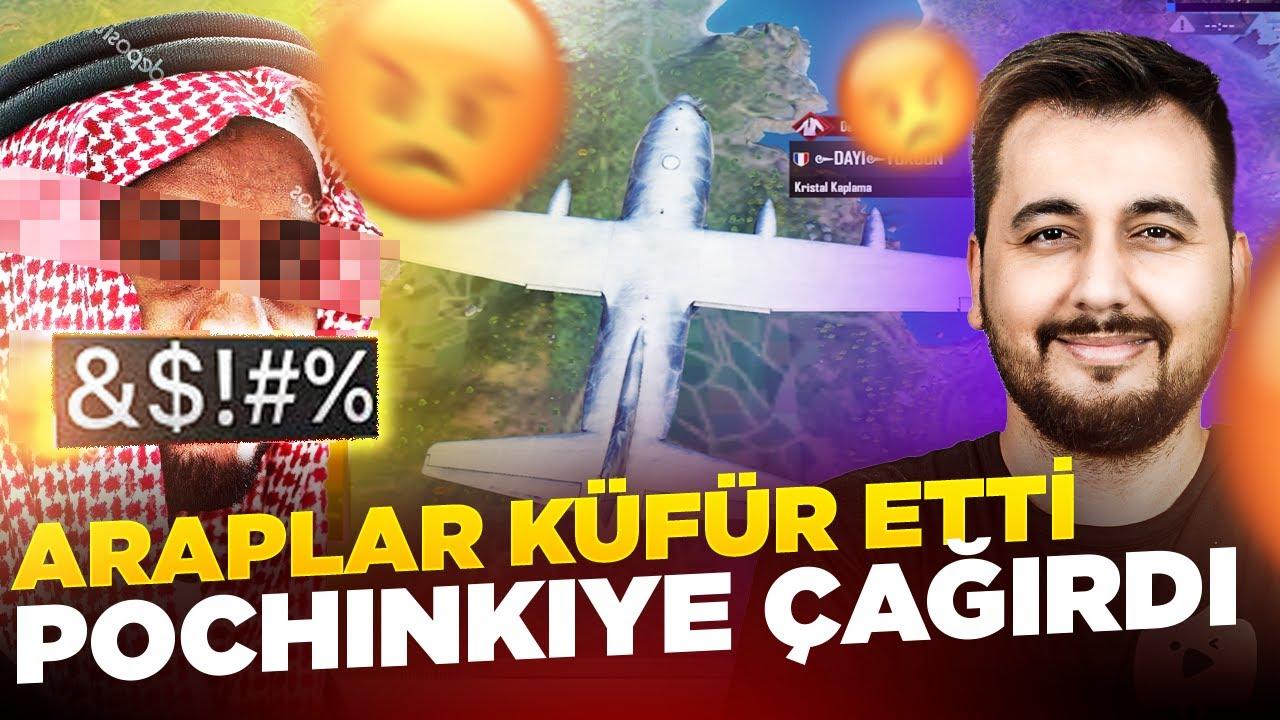 ARAPLAR KÜFÜR ETTİ, POCHINKI'YE ÇAĞIRDI / PUBG MOBILE