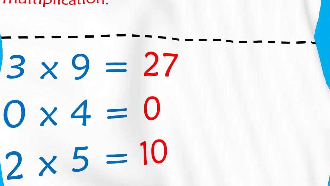 Cal 6 4 Connaitre Les Tables De Multiplication De 0 A 3 Youtube