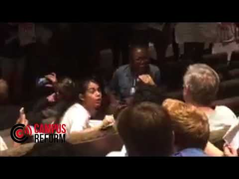 Protesters Shut Down Event At Columbia University