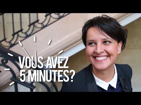 "Najat Vallaud Belkacem : ""Mon mari me surnomme Lulu"" I Vous avez 5 mn ?"