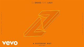 DJ Snake, Lauv - A Different Way (Noizu Remix)