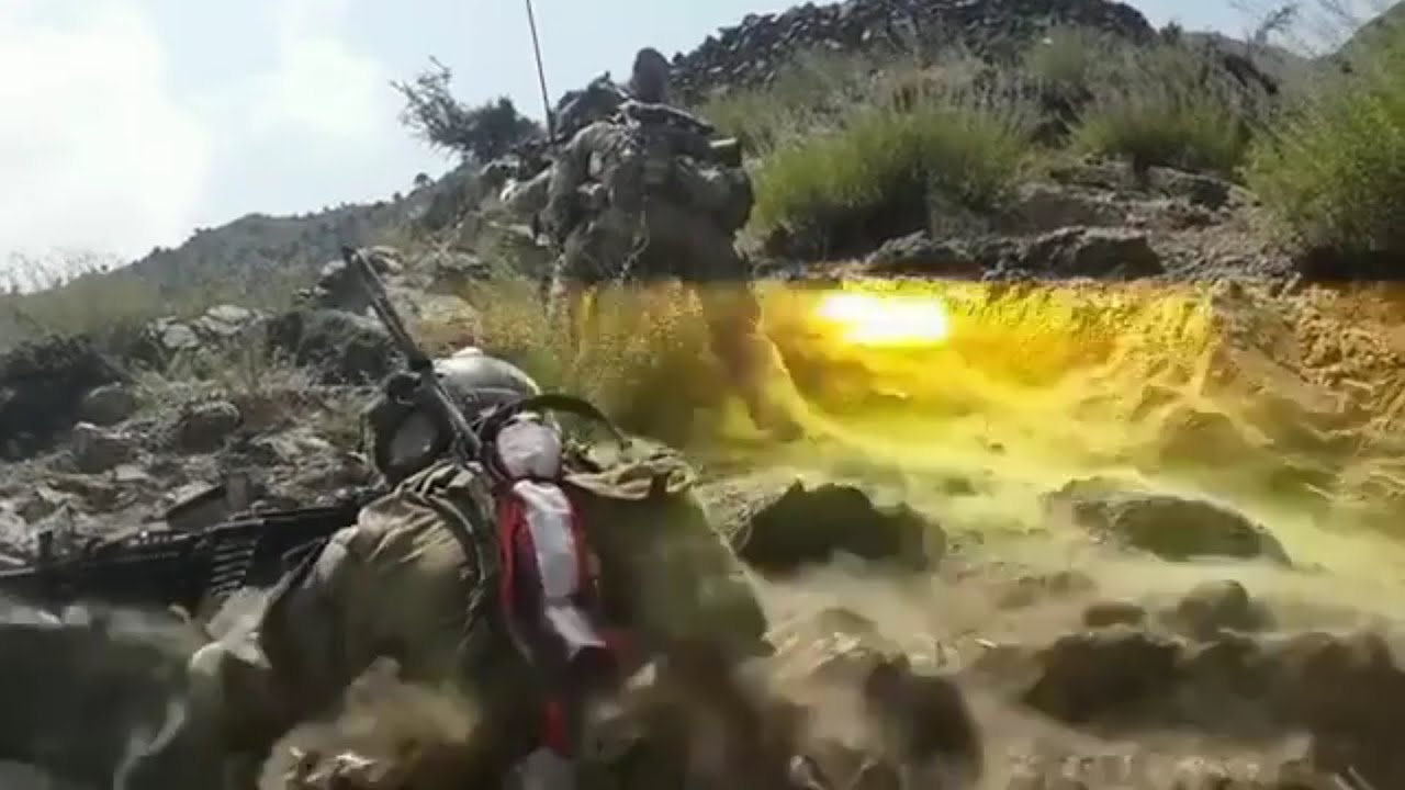 US Army Green Berets Special Forces Score Direct Hit On ISIS Position During Combat In Afghanistan