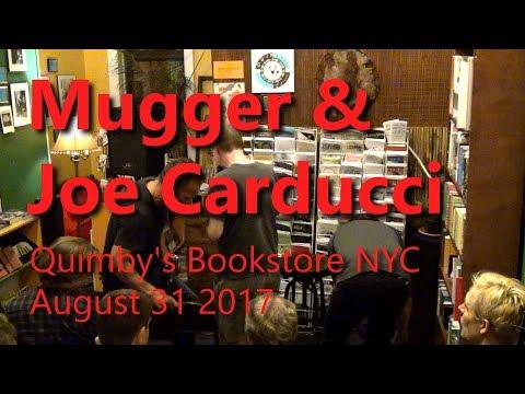 Mugger & Joe Carducci @ Quimby's Bookstore, Brooklyn