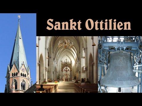 ERESING-SANKT OTTILIEN (LL), Erzabteikirche Herz Jesu - Teilgeläut und Vollgeläut (Turmaufnahme)
