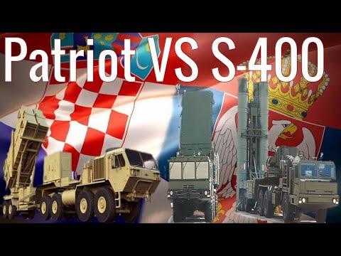 Patriot u Hrvatskoj protiv S-400 u Srbiji - Croatian MIM-104 Patriot VS Serbian S-400