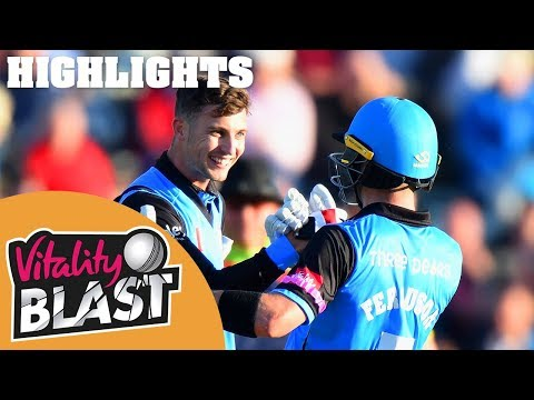 Worcestershire Reach Finals! | Worcestershire v Gloucestershire | Vitality Blast 2018 - Highlights