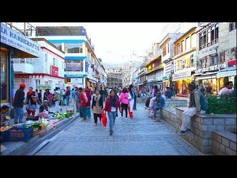 Leh ladakh walking Street main bazaar