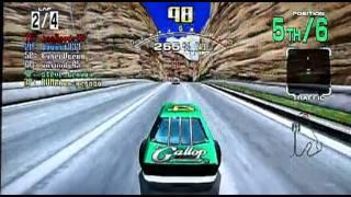 Daytona USA on Sony PS3. Gameplay & Commentary