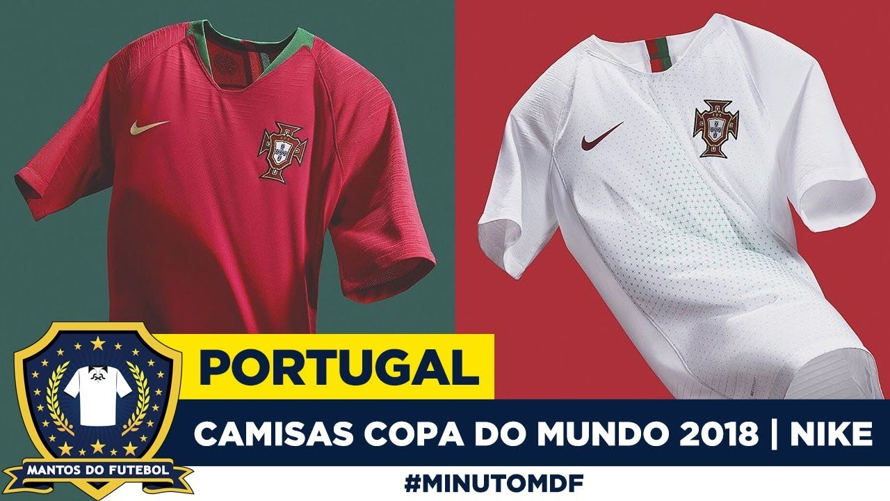 Camisa de Portugal Copa do Mundo 2018 Nike - YouTube 1fba45f178840