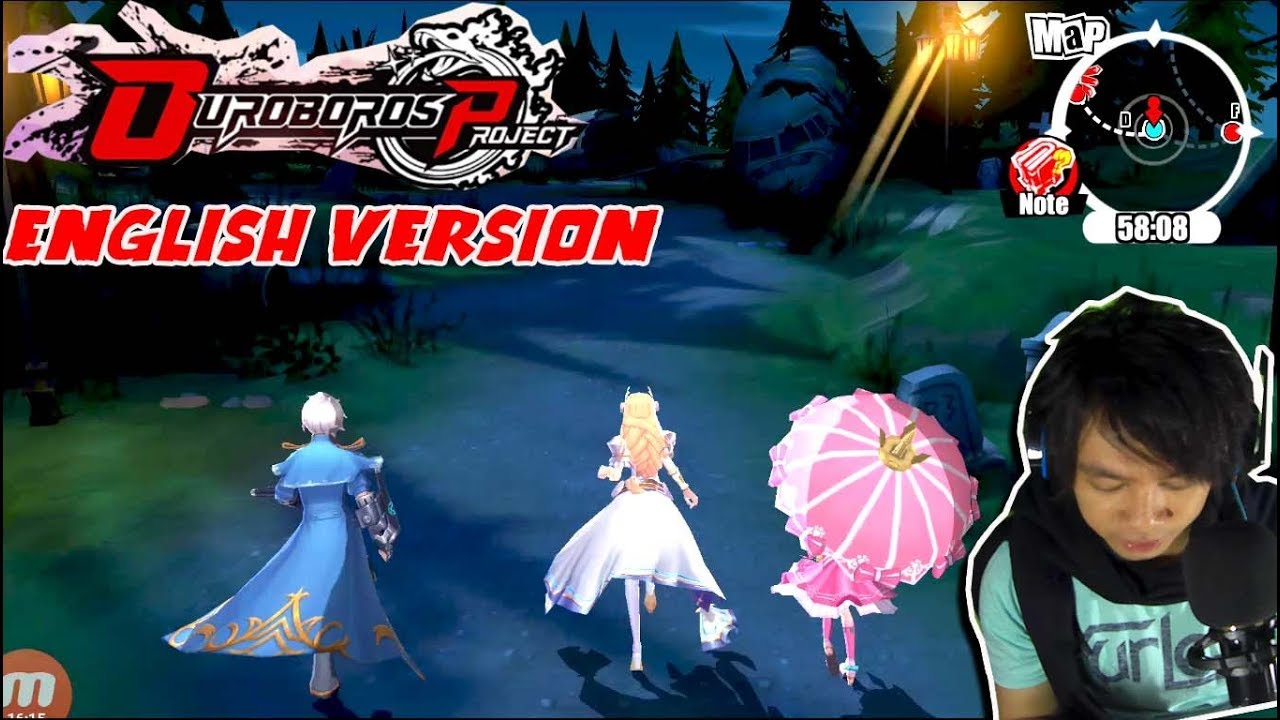 English Version !!! Ouroboros Project (RPG  Gameplay – android/iOS GAME