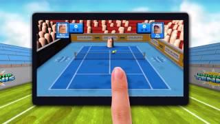 Fingertip Tennis - Game Trailer