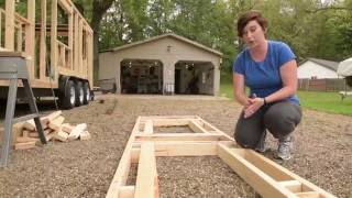 Tiny House Construction: Step 6 - Framing The Dormers For The Sleeping Loft