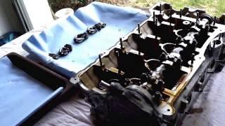 Замена прокладки ГБЦ BMW 316TI N42 Zylinderkopfdichtung wechseln ч6.