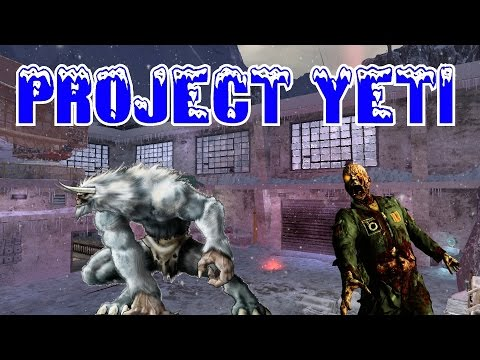 PROJECT YETI & Dead Palace ZOMBIES! ★ (CoD Custom Zombies Maps/Mods Gameplay)