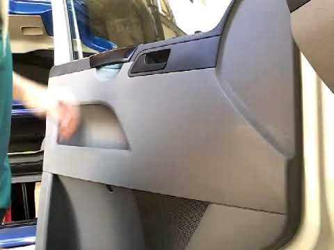 снятие обшивки двери транспортер т5
