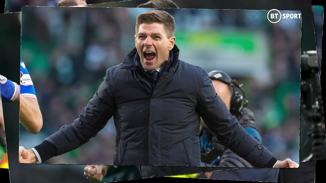 Steven Gerrard leads Glasgow Rangers to 55th Scottish Premiership title