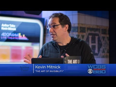Kevin Mitnick On WCBS-AM Author Talks