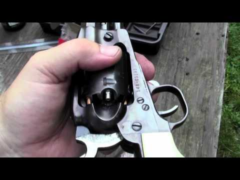Ruger Old Army Round Ball Vs Conicals Part 1