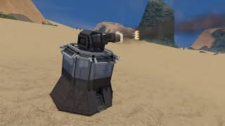 Turbolaser - Space Engineers