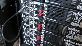 """Stage Left Audio - """"Daisy"""" Chain of Amplifiers"""
