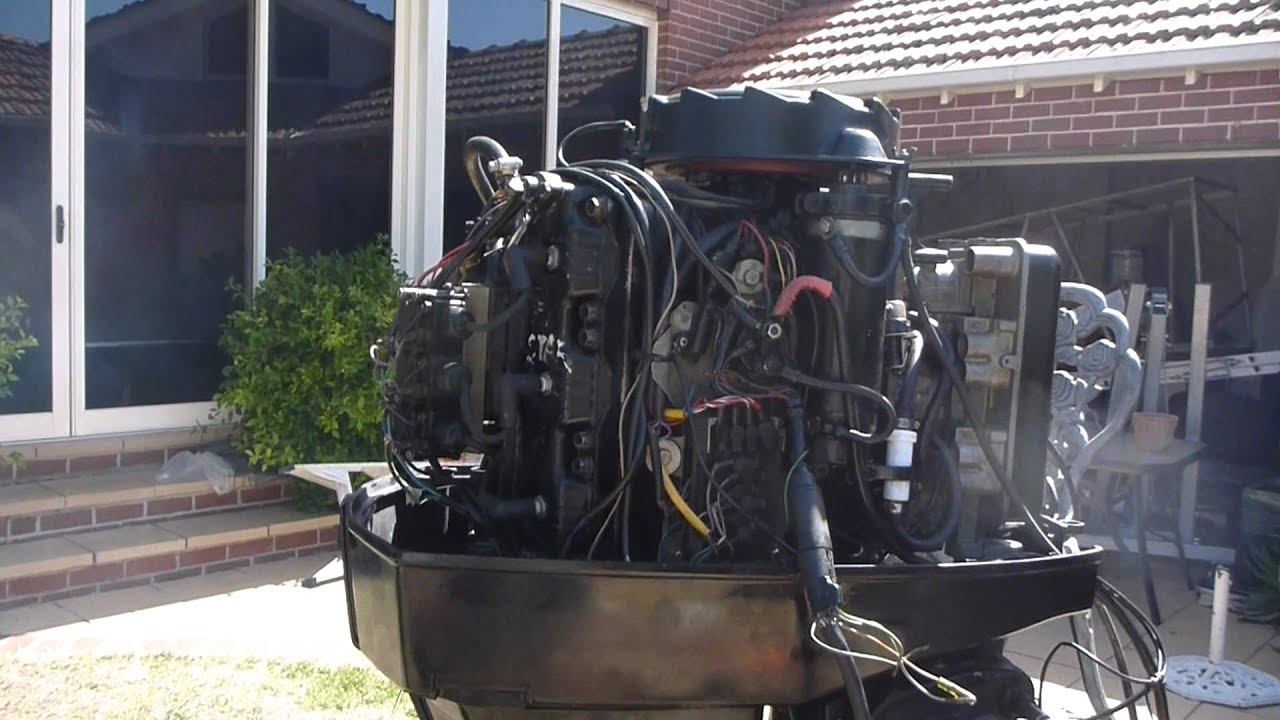 Mercury V6 Blackmax Outboard Motor 175 Hp  YouTube