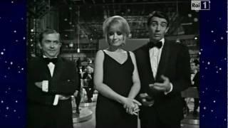 Mina, Paolo Panelli e Walter Chiari - Finale quinta puntata Canzonissima 1968