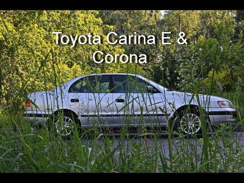 Toyota Carina E & Corona