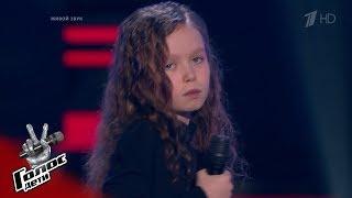 "Anastasia Ivanova ""Stone Cold"" – Blind Auditions – The Voice Kids Russia – Season 6"