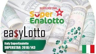 Lotto SUPERSTAR Superenalotto 29 Nov 2018