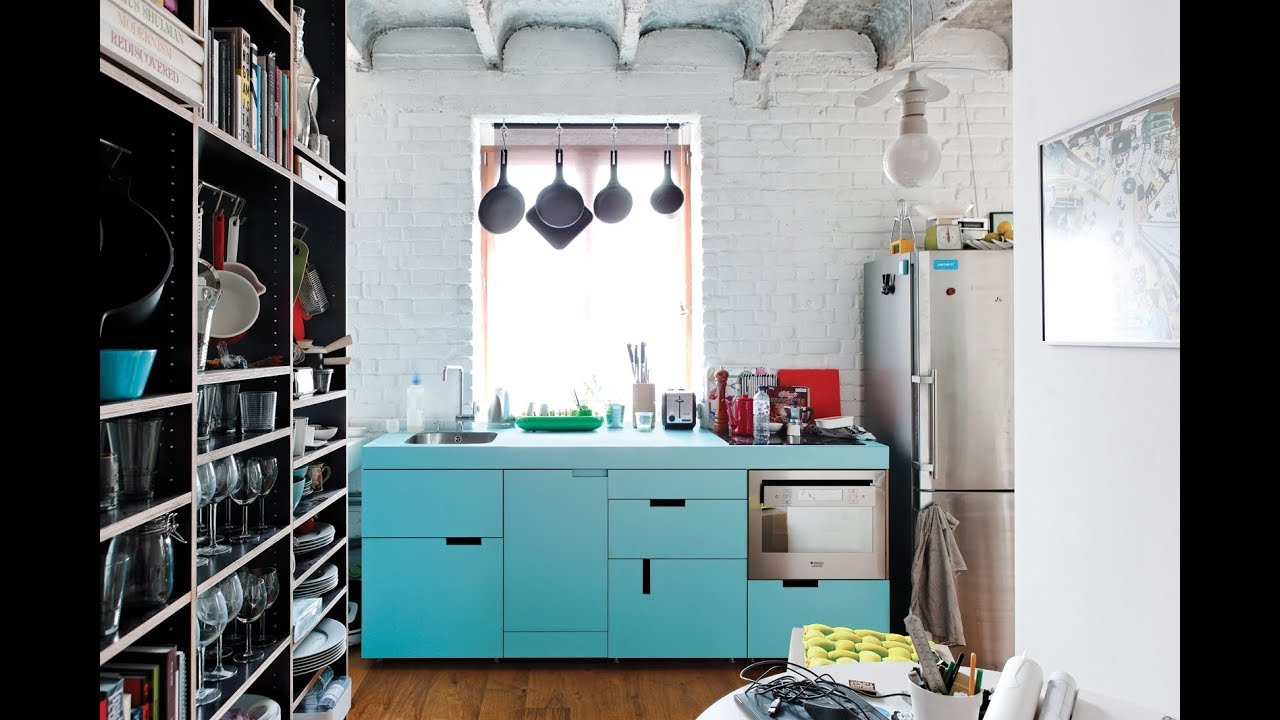 Small Kitchen Ideas Apartment - Decorating Tiny Kitchens ...