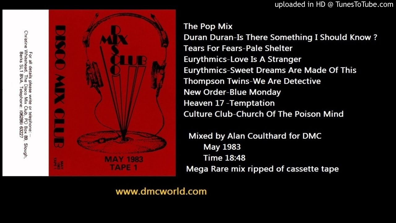 Alan Coulthard's 'The Pop Mix' sample of Culture Club's