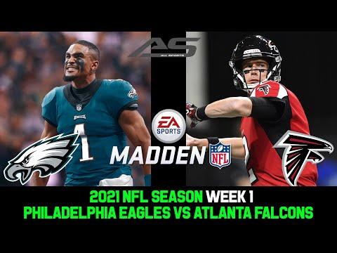 Download NFL 2021 Season - Week 1 - Philadelphia Eagles vs Atlanta Falcons - 4K  - AllSportsStation