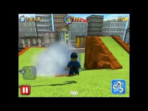 Лего Сити! Lego City! My City! Работа полицейских! Серия 13! Игра! Прохождение!