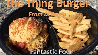 Denny's The Thing Burger Review