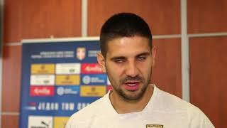 Aleksandar Mitrović Pred Meč Srbije i Portugala u Kvalifikacijama za Euro 2020   SPORT KLUB Fudbal