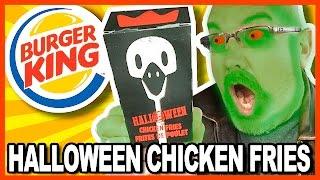 burger king halloween chicken fries review