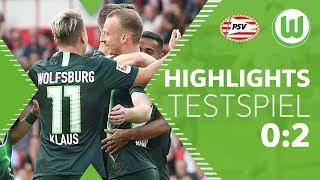 Traumfreistoß von Arnold | Highlights | PSV Eindhoven - VfL Wolfsburg 0:2