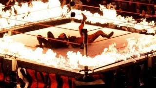 Undertaker vs Kane INFERNO MATCH WWF In Your House Unforgiven 1998 UNDERTAKERS GRAVEST MATCHES
