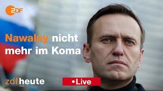 Zdfheute live: nawalny nicht mehr im koma - hintergründe zum zustand des kremlkritiker ----- hier auf nachrichten erfahrt ihr, was der welt pas...