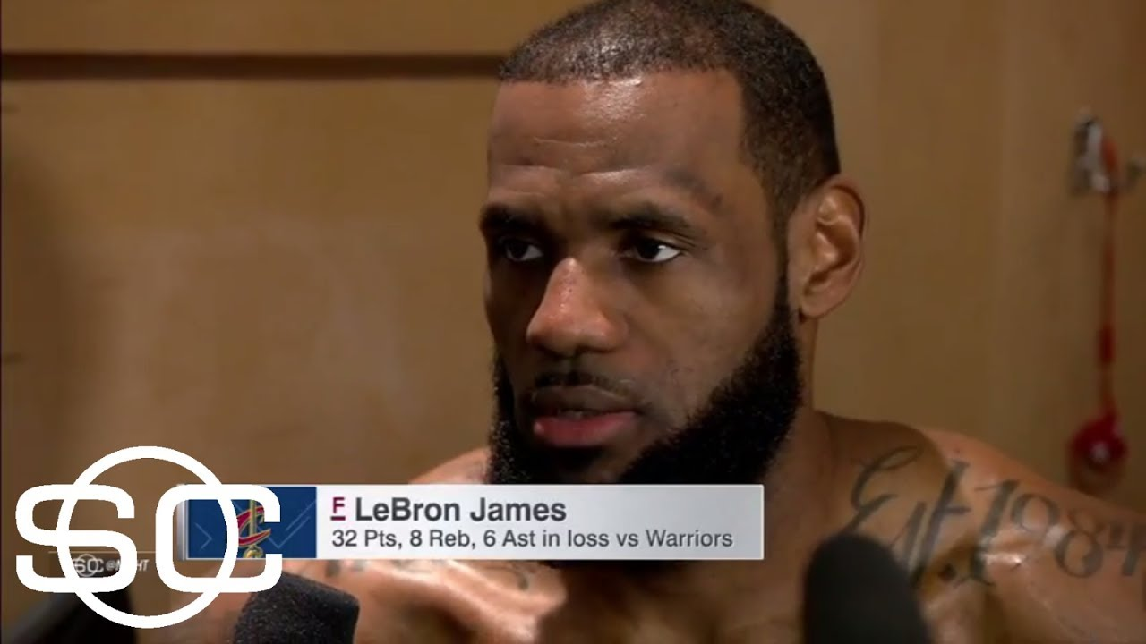 LeBron on Warriors: 'You want to play well vs. them every time' | SportsCenter | ESPN
