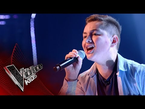 Nathan performs 'Old Time Rock & Roll': Blinds 3 | The Voice Kids UK 2017