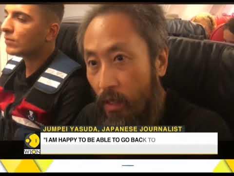 Japan journalist freed from Syrian captivity