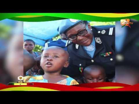 FEMME AFRICAINE MODERNE DU 04 AVRIL 2018 AVEC LES FEMMES DE L'ARMÉE