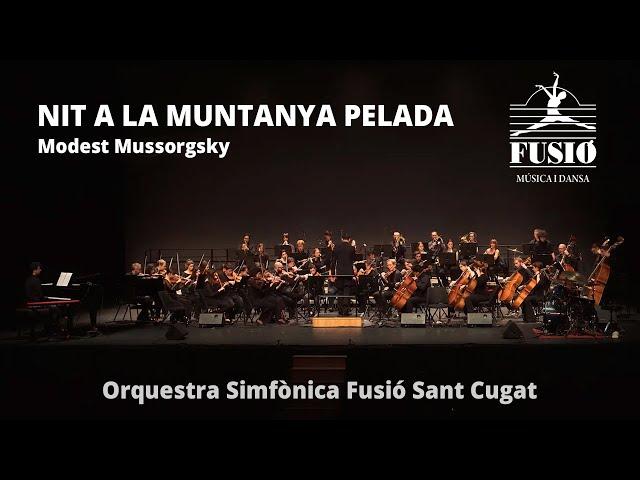Nit a la muntanya pelada (M. Mussorgsky) - Orquestra Simfònica Fusió Sant Cugat #JoEmQuedoACasa